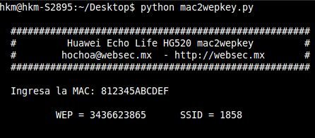 mac2wepkey